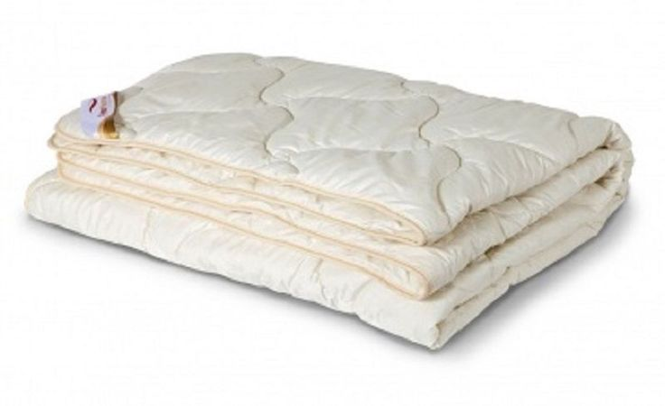 Comforter is wool of Angora goats - all seasonal, upper material-100% cotton