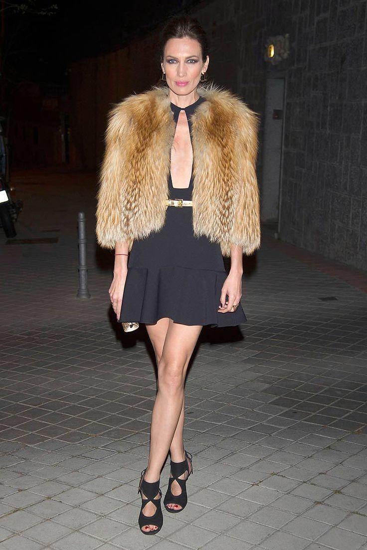 Nieves Álvarez in Aquazzura Sexy Thing high heels
