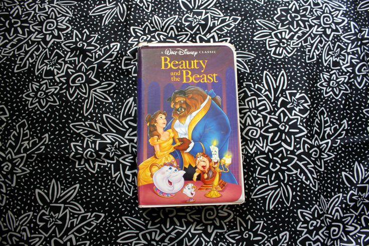 Beauty And The Beast Black Diamond Disney VHS Tape. Original Rare Black Diamond Walt Disney VHS Collectible Movie. by ElevatedWeirdo on Etsy https://www.etsy.com/listing/465274909/beauty-and-the-beast-black-diamond