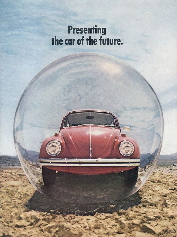 Promotional sales brochure for the 1970 Volkswagen Beetle