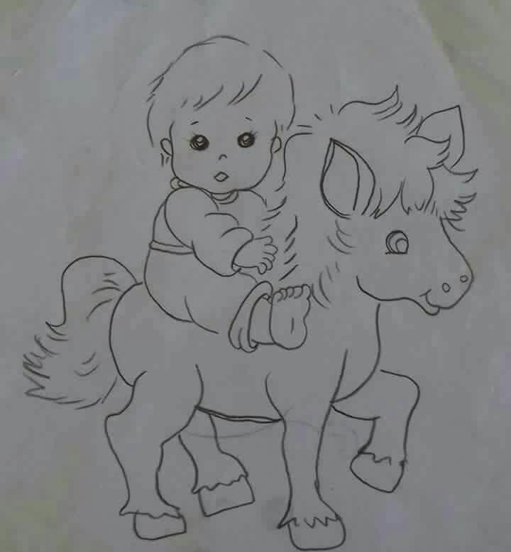 Menino no cavalo tp