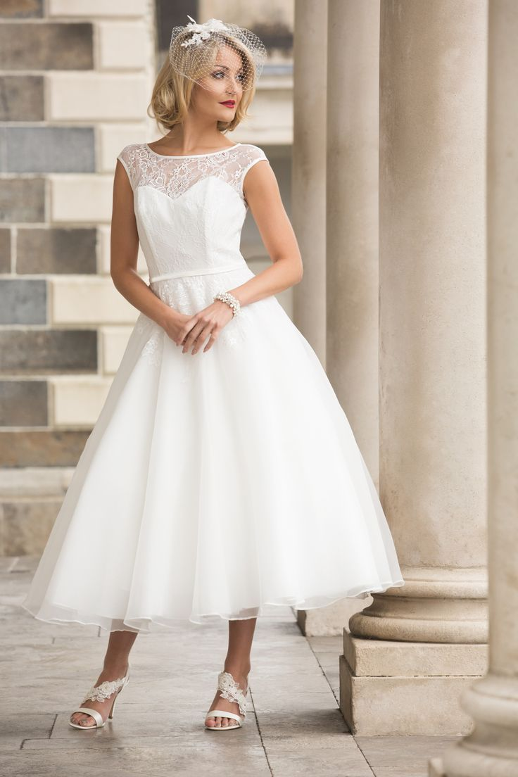 58 best tea length wedding dresses images on pinterest vintage vintage tea tea length teas wedding dresses models ombrellifo Choice Image