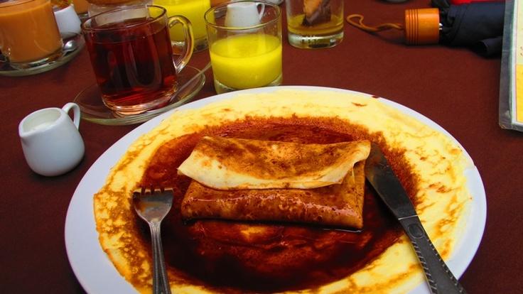 folded pancake