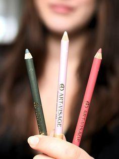 3 Kajalstifte - 1 Makeup Look ☆ Mit nur wenigen Make Up Produkten zauberst du einen wunderschönen Look. ☆ Makeup Tutorial, Beautyblog, Makeupblog, Kajal, Lipliner, Lippen, Augen ☆