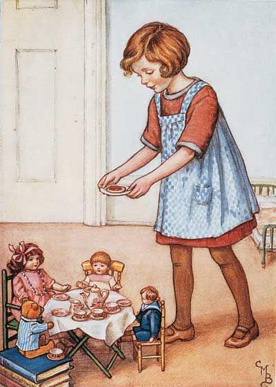 Clara M. Burd 'Tea Time'