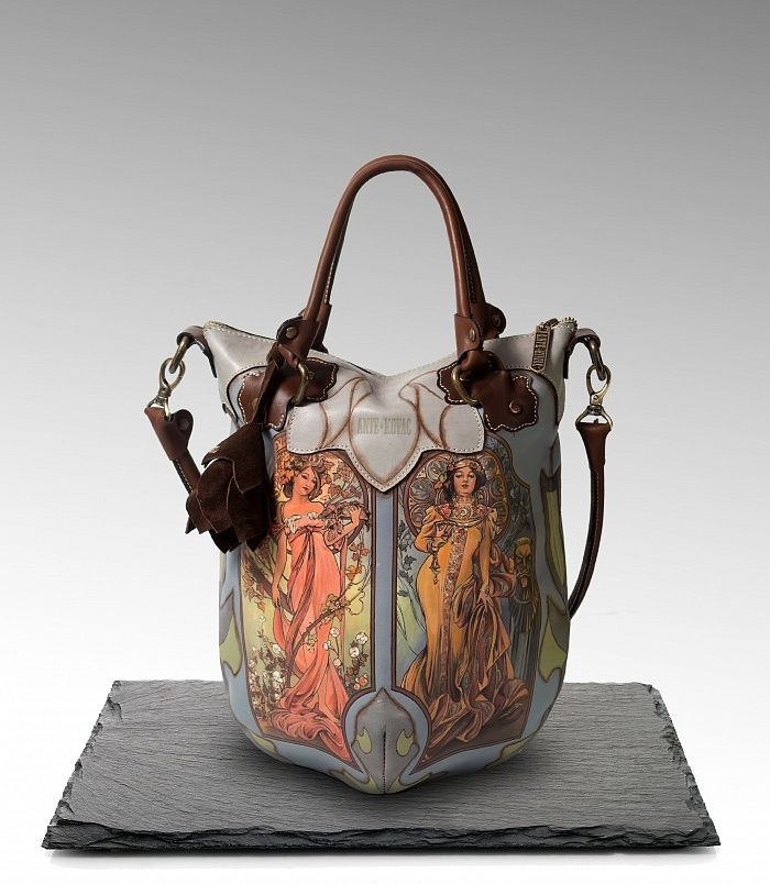 Collection by a Russian bag brand ANTE KOVAC, inspired by an iconic artist  Alphonse Mucha and modern style. #mucha #style #fashion #bag #handmade #art #streetstyle #russia #стиль #мода #сумка #альфонсмуха #antekovac