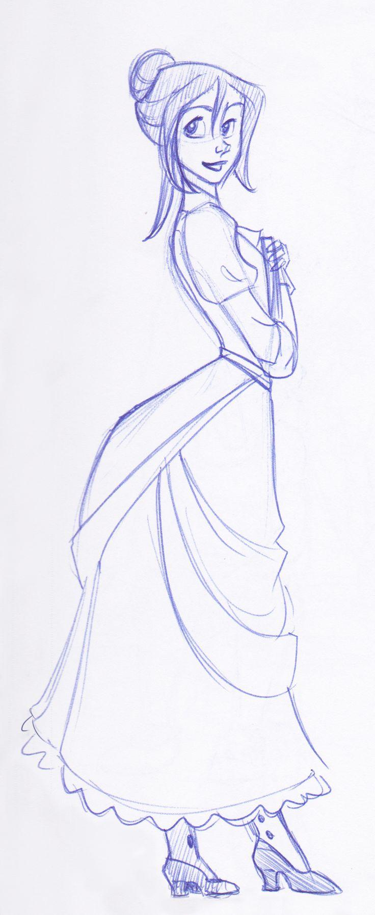 Tarzan - Ms. Porter: disney, sketch, jane