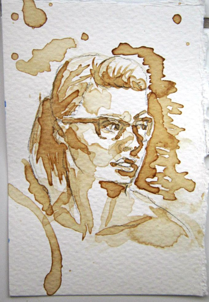 Your photo turned into a coffee painting! in fiverr