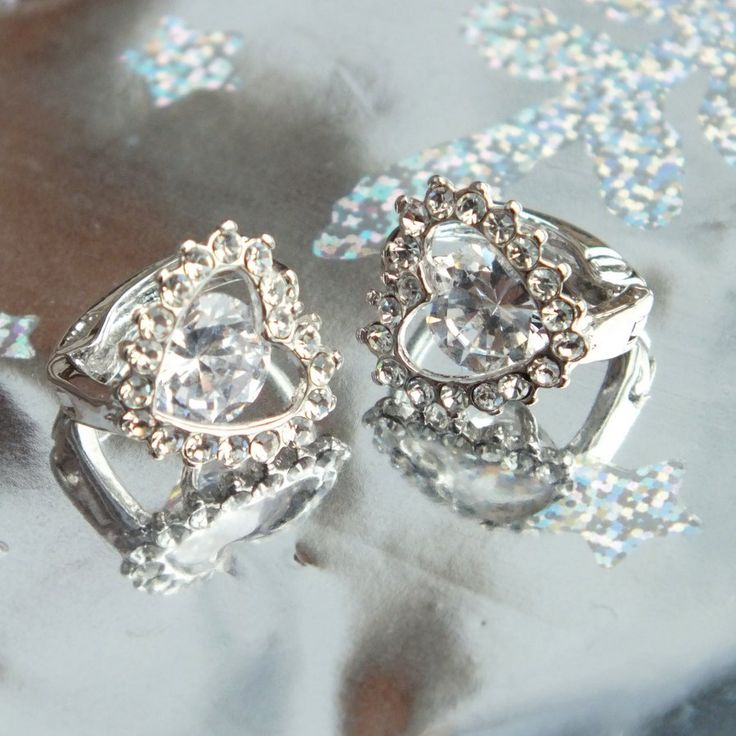 Earrings with ringstones from my love ♥