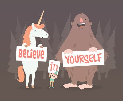"""Believe in Yourself"" Art Print by See Mike Draw on Society6."