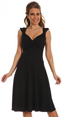 Accessori per abito nero elegante legato