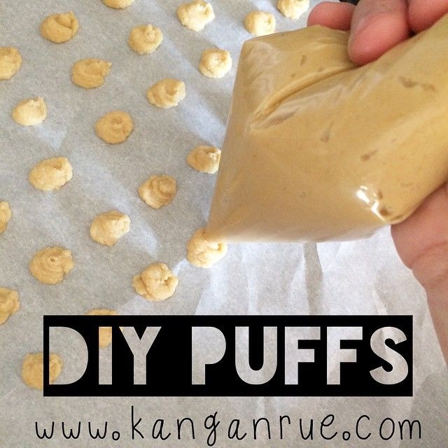 Homemade Puffs- no sugar.