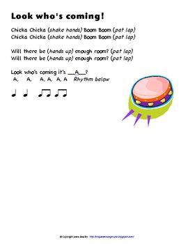 Chicka Chicka Boom Boom Song