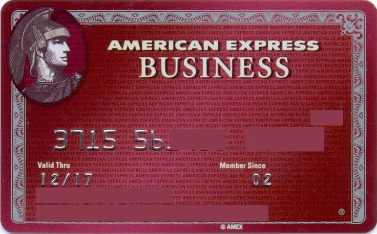 American Express Business Plum card (American Express, United States of America) Col:US-AE-0004-2