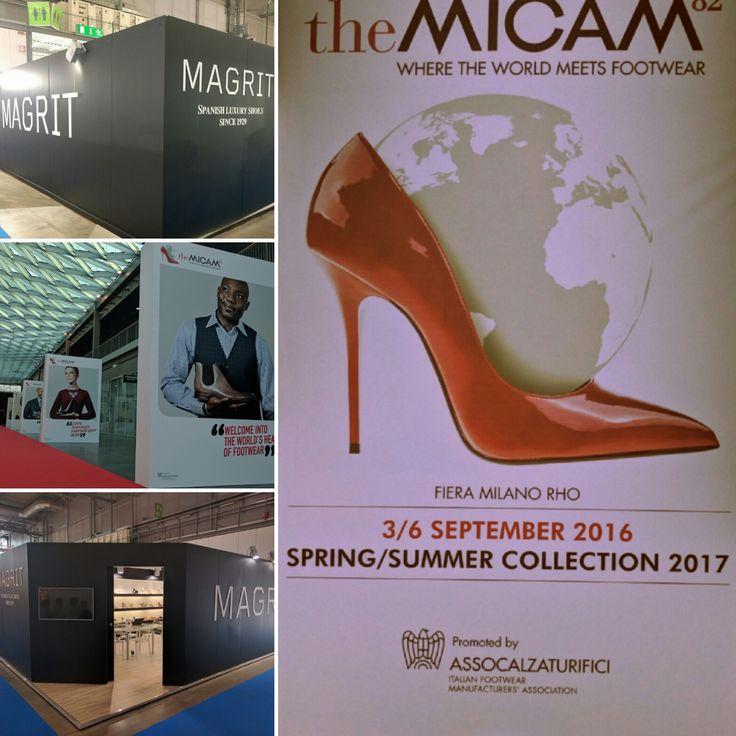 #Magrit MAGRIT presente en la feria de MICAM en Milán, en su edición Nº 82 que tiene lugar del 3 al 6 de Septiembre.