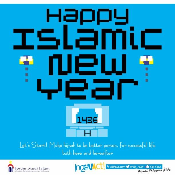 Happy islamic new year, welcome muharram, make hijrah to be better person :')