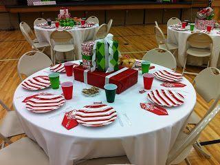ward christmas party ideas