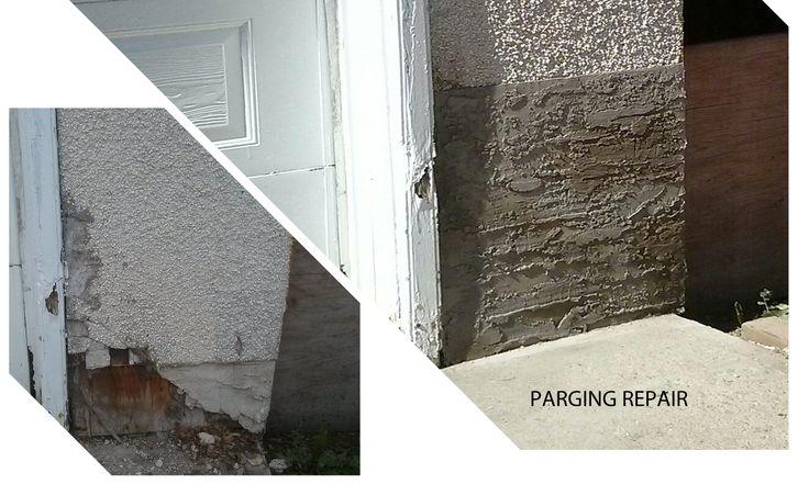 Edmonton Alberta - Parging Repair - By: My Custom PRO