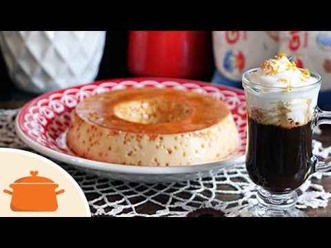 Pudim de Leite (sem leite condensado) e Café com Laranja - YouTube