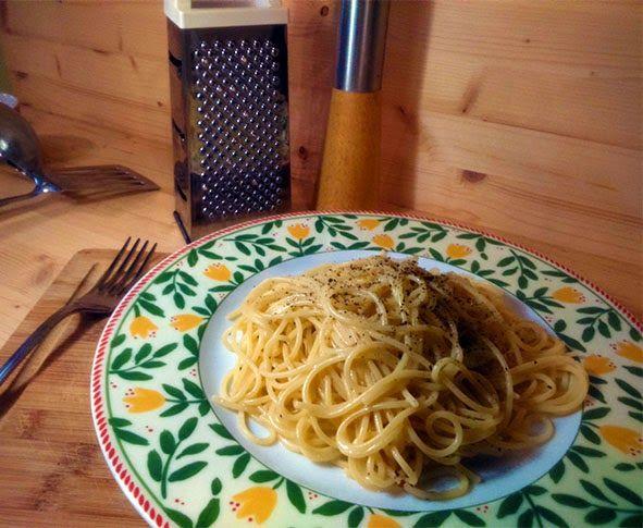 Ricette e Segreti in Cucina : Cacio e Pepe