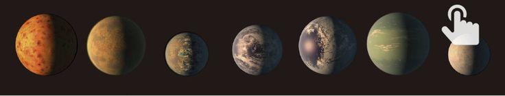 Em fevereiro e março de 2016 os astrônomos usaram o telescópio espacial Spitzer, da NASA, para captar as minúsculas flutuações na luz do astro que são produzidas quando os planetas passam na frente de sua estrela. Telescópios terrestres no Chile, África do Sul, Marrocos, Estados Unidos e Ilha de La Palma, nas Canárias, direcionaram também suas lentes para a Trappist-1entre maio e setembro.