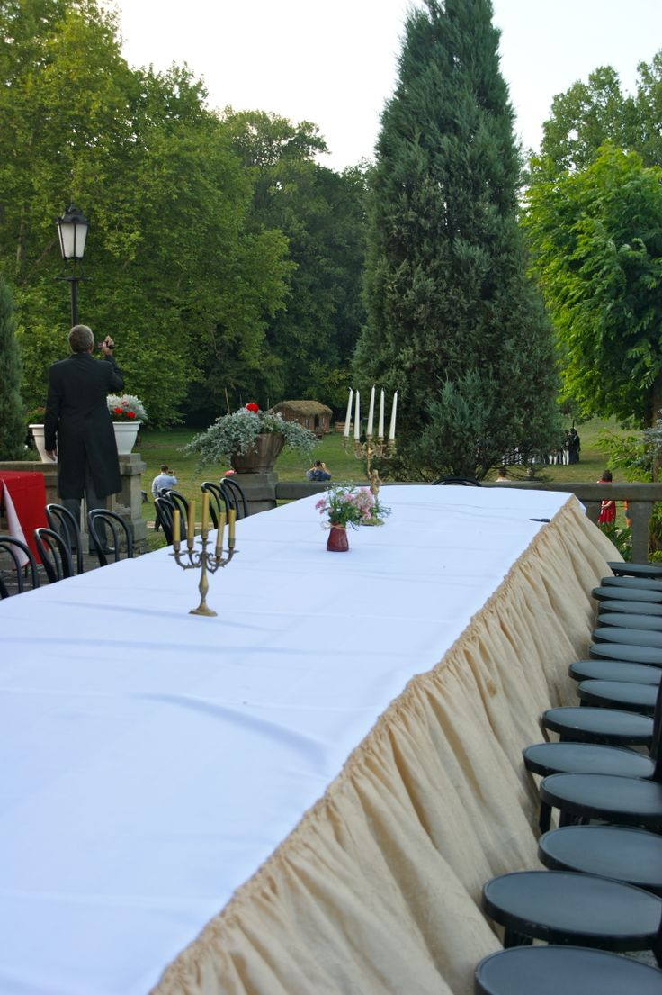 dining table at Palac Warmatowice / wedding