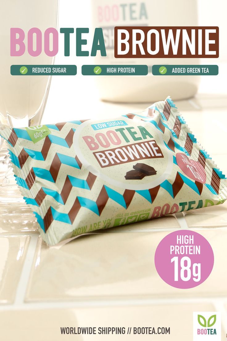 Up your snack game with our high protein, low sugar, amazing tasting brownie! Each Brownie is individually wrapped and ready to eat, or heat in the microwave for 20 secs for a gooey chocolatey treat. Get your box of 12 now at Bootea.com!
