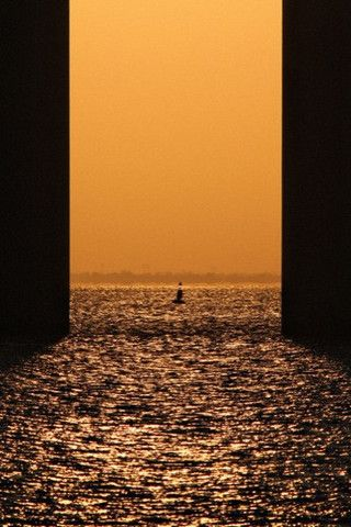 Open are the double doors of the horizon por Pedro Pinheiro