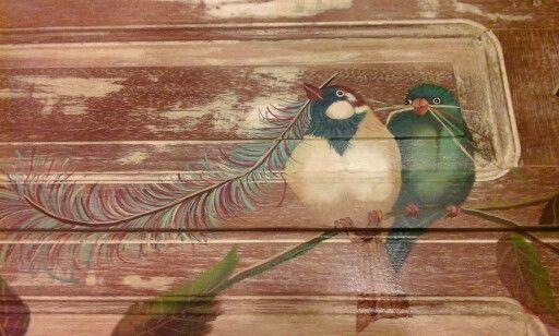 Pájaros con plumas