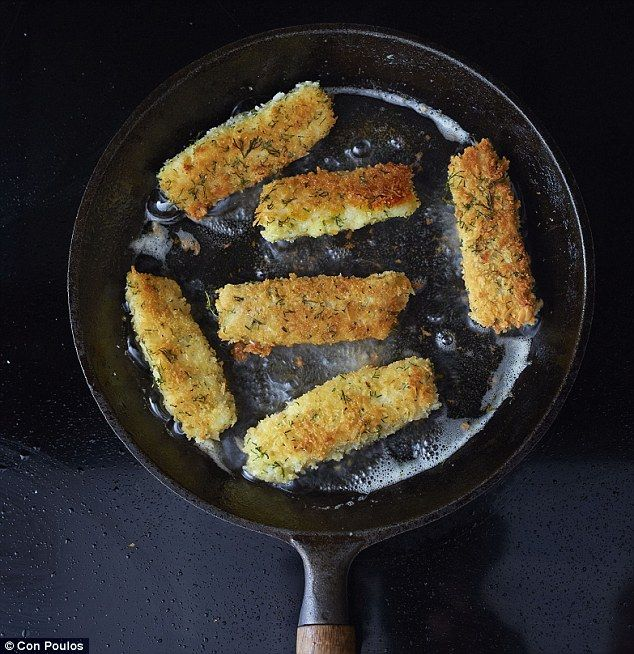 Gordon Ramsay's home-made fish fingers (use almond flour instead of bread crumbs for coating)