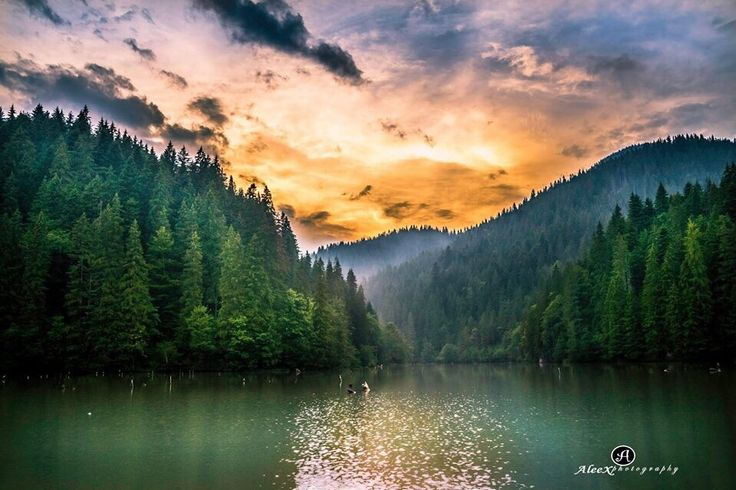 Red Lake 2, Bicaz RO by Alex B / 500px