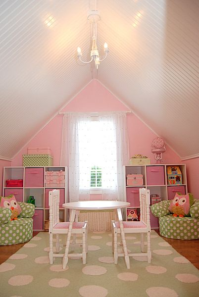 this is what i would love to do with the bonus area above our garage bonus room playroom office