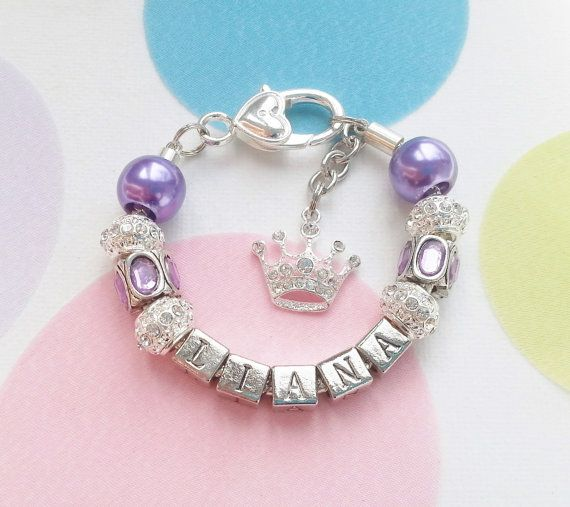 Gorgeous Purple Charm Bracelet. Perfect Gift for a by SPOILTiAM