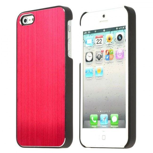 Alu Shield (Punainen) iPhone 5S Suojakuori - http://lux-case.fi/alu-shield-punainen-iphone-5-suojakuori.html