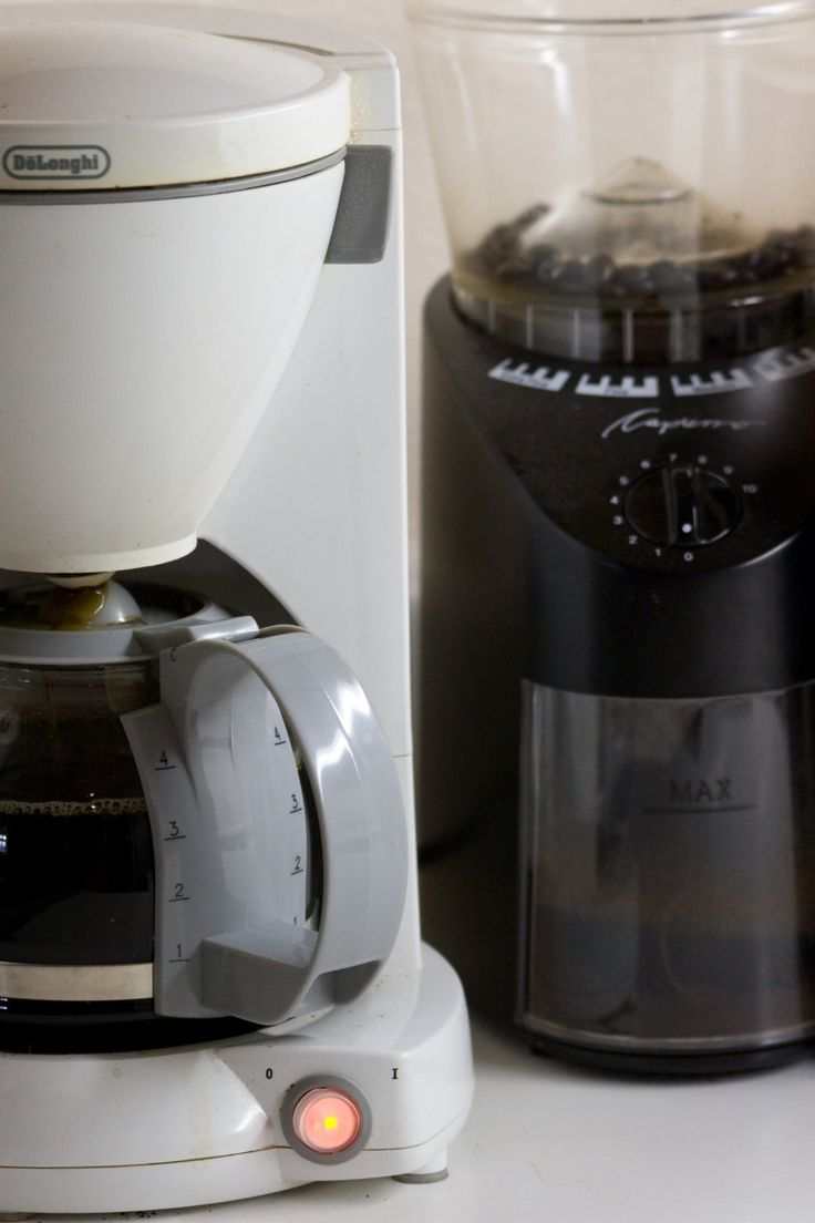 Cleaning your coffee maker with the right ratio of  vinegar to water  is a simple, cheap, quick way to have great tasting coffee. It doesn't take much effort and the results are delicious.