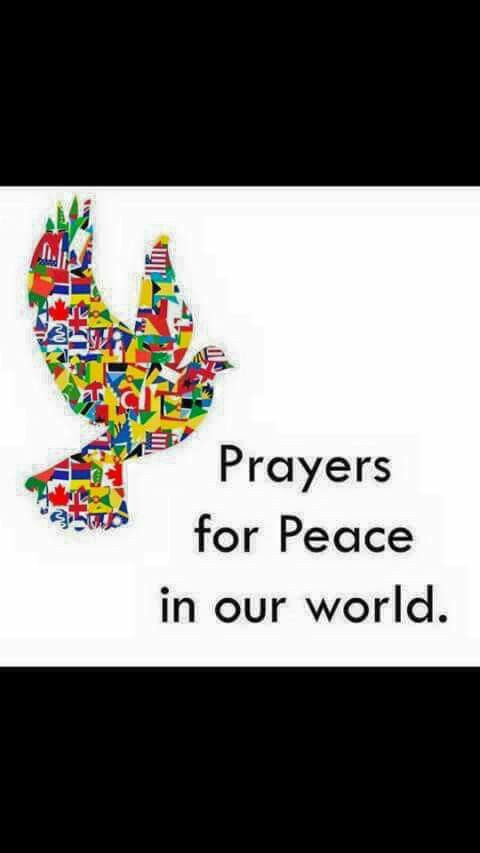 ☮ * ° ♥ ˚ℒℴѵℯ--I pray EVERYONE converts and lives for God by following His Commandments--Then, we will have peace on Earth