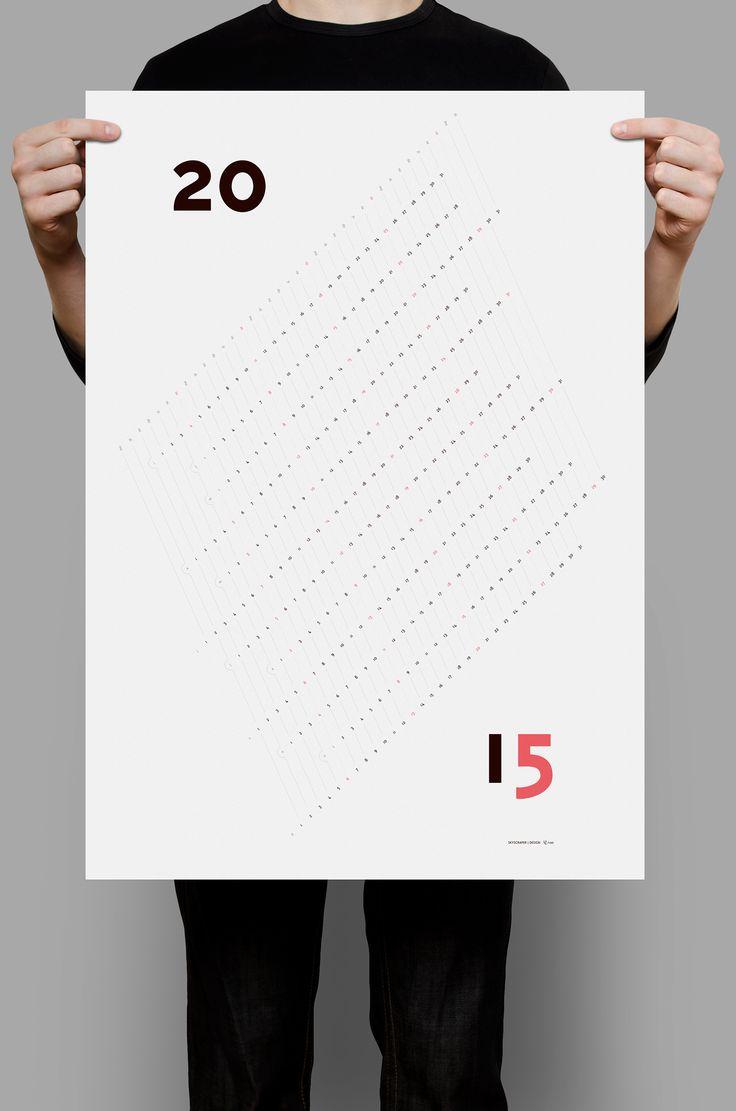 Wall Calendar 2015 on Behance