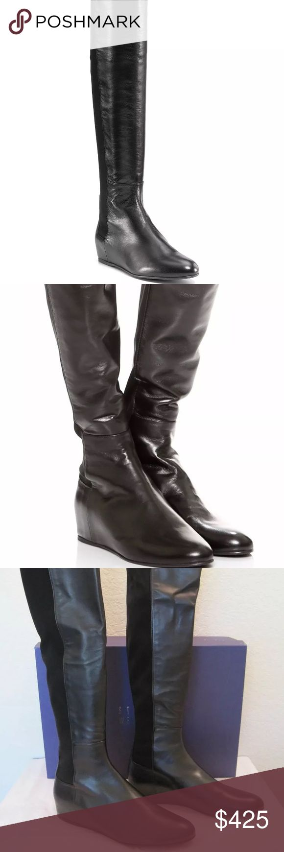 Stuart Weitzman Mainline OTK 50/50 Nappa Black 9.5 NEW ONLY TRIED ON Stuart Weitzman Mainline OTK 50/50 Nappa Black 9.5. Offers accepted. No trade. Stuart Weitzman Shoes Over the Knee Boots