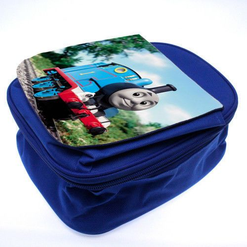 Personalized Pink and blue Lunch Bag for Kids schools with personalised image #Unbranded