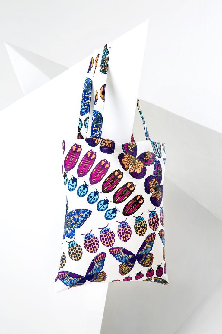 NEW Trends, Home&Decorate.  MINNA PARIKKA Design. Papilio bag VALLILA.fi