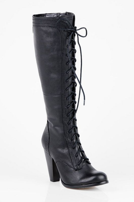 boots Spencer wore on PLL: Things Fashion, Boots 97, Boots Spencer, Seychelles Platinum, Lace Up Boots, Gorgeous Lace Up, Fashion Accessories, Platinum Lace Up