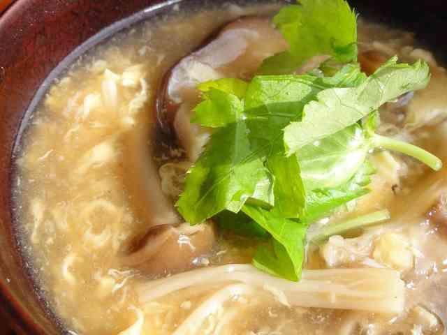 【副菜】きのこたっぷり中華スープ by しめじーる