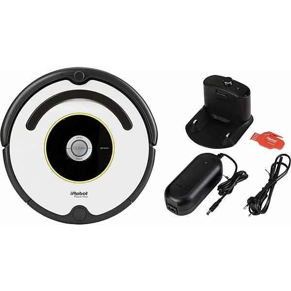 iRobot Saugroboter Roomba 621, 30 Watt, grau, schwarz