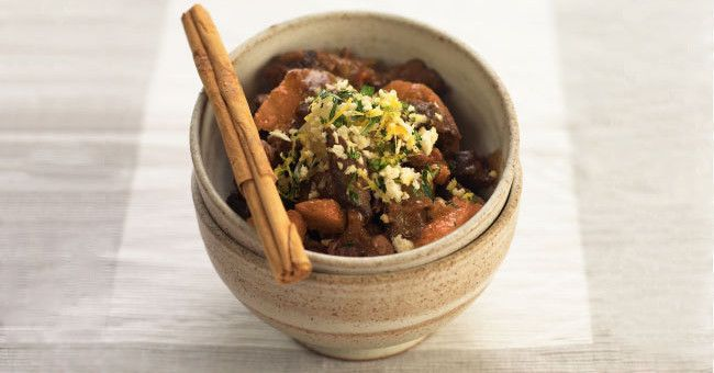 Recipes - Slow-Cooked Moroccan Lamb