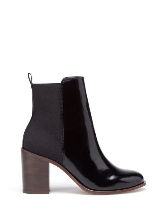 Stradivarius High heel elasticated ankle boots