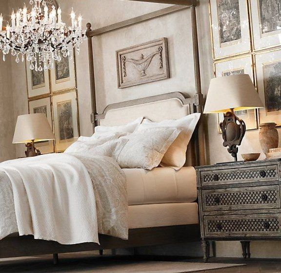 How To Use A Four Poster Bed Canopy To Good Effect: 25+ Best Ideas About Restoration Hardware Bedroom On