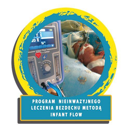 Program powstał w 2003 roku. Jego ideą było wprowadzenie do powszechnego użytku najnowocześniejszej i najbezpieczniejszej metody leczenia niewydolności oddechowej u noworodków, przy pomocy możliwie najlepszego sprzętu.