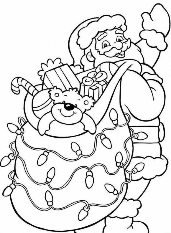 Santa Claus Coloring Pages Santa Coloring Pages Christmas Coloring Sheets Christmas Coloring Pages