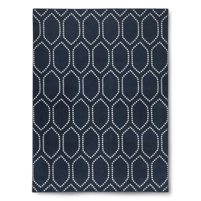 Threshold™ Dot Tile Rug, also in teal $69