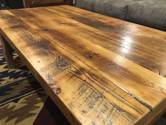 25 Best Ideas About Reclaimed Wood Coffee Table On Pinterest Coffe Table Handmade And